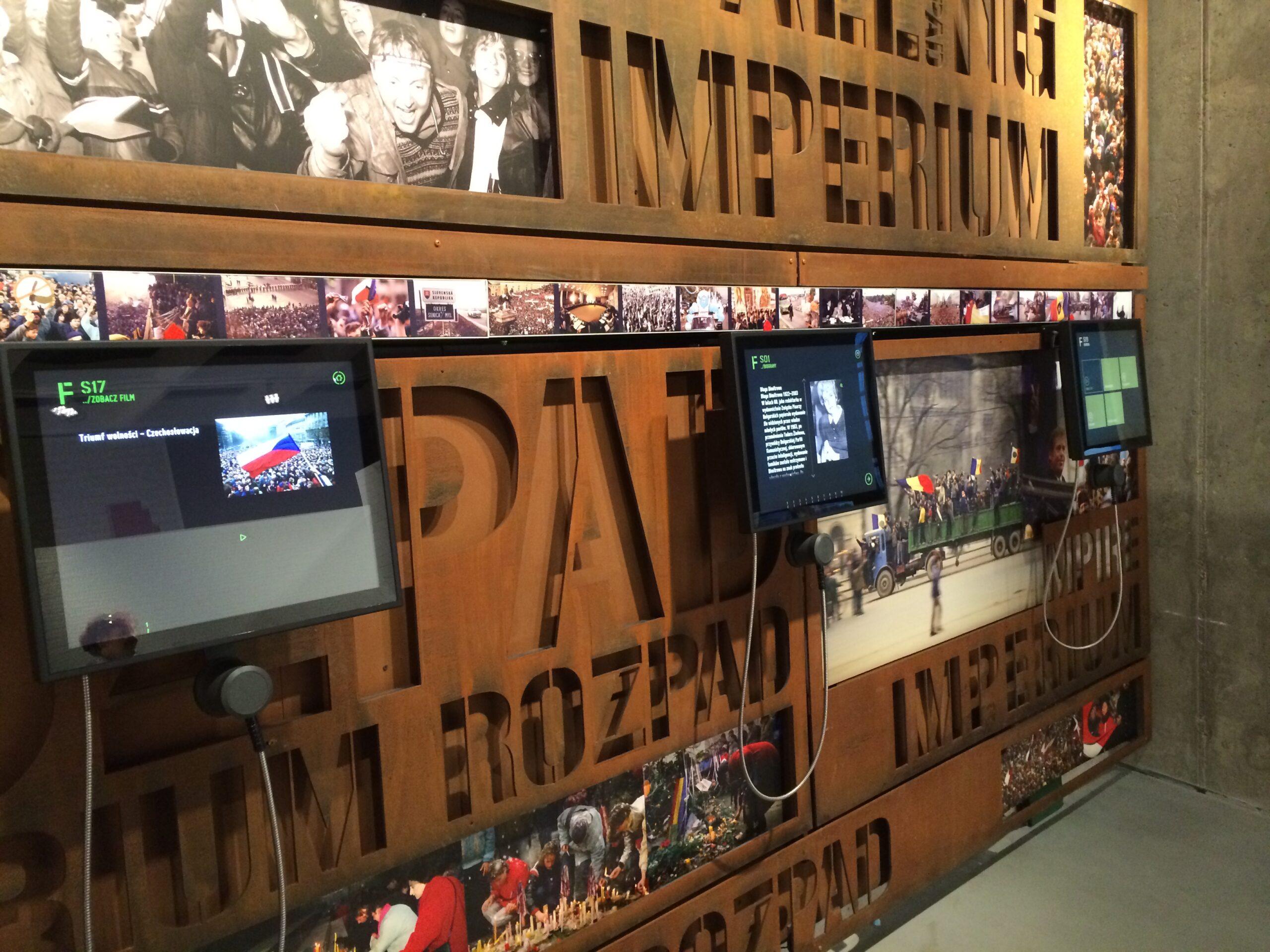System multimedialny – Muzeum Solidarności